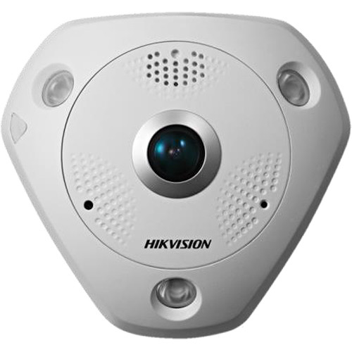 Hikvision Smart Series 12MP Outdoor Fisheye Network Camera with Night Vision