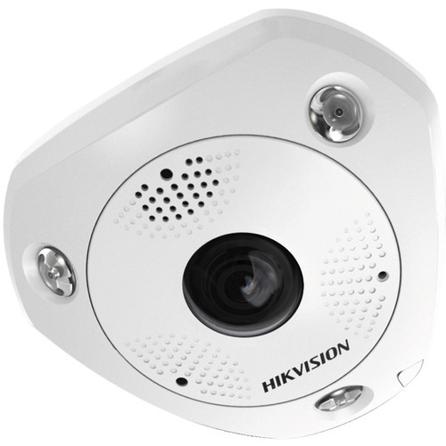 Hikvision DS-2CD63C5G0-IVS 12MP Outdoor Network Fisheye Camera with Night Vision & Heater