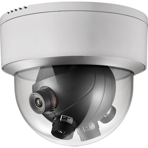 Hikvision Smart Series 8MP Multi-Sensor Outdoor Network Panoramic Dome Camera