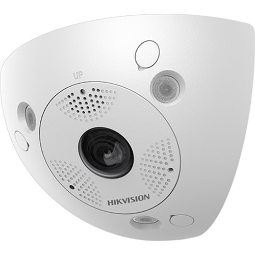 Hikvision 3MP Ultra-Wide Angle Indoor/Outdoor Network Camera with 2mm Fixed Lens
