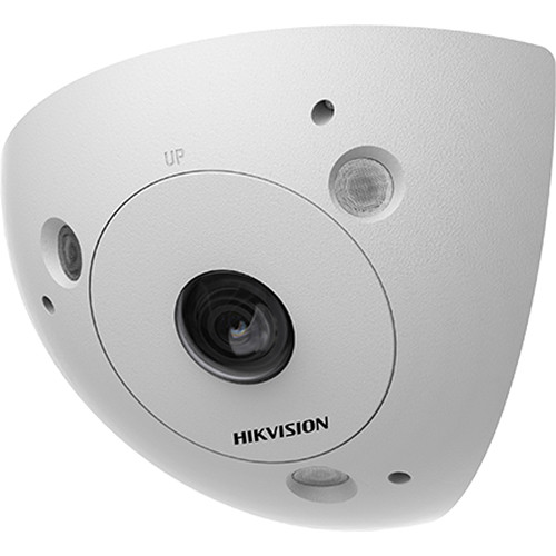 Hikvision DS-2CD6W32FWD-IVSD 3MP Outdoor Network Corner-Mount Detention-Grade Camera with Night Vision