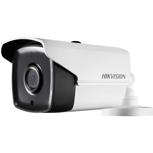 Hikvision 5MP Ultra Low Light PoC Outdoor IR Bullet Camera with 12mm Fixed Lens