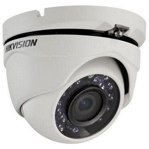 Hikvision TurboHD Series 2MP Outdoor HD-TVI Turret Camera with Night Vision and 2.8mm Lens (Black)