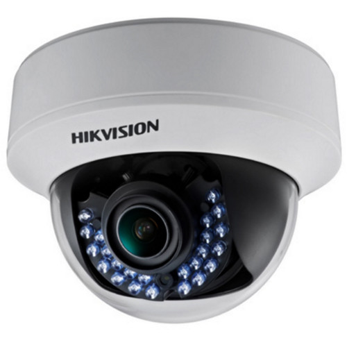 Hikvision TurboHD Series 2.1MP HD-TVI Dome Camera (Black)