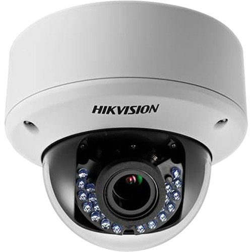 Hikvision TurboHD Series 1080p Outdoor HD-TVI Dome Camera (White)