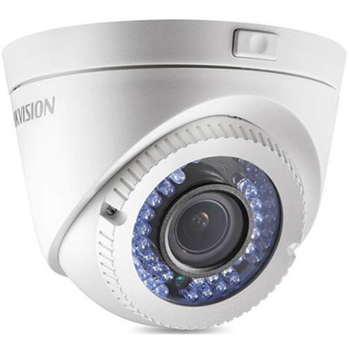 Hikvision TurboHD 1080p Analog Motorized Varifocal Turret Camera