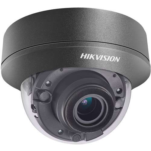 Hikvision TurboHD DS-2CE56D8T-VPITB 2MP Outdoor HD-TVI Dome Camera with Night Vision & 6mm Lens (Black)