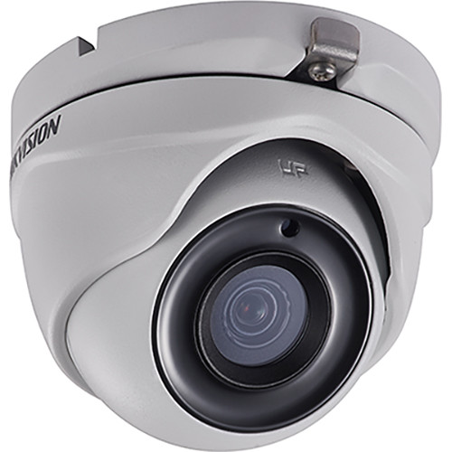 Hikvision TurboHD DS-2CE56D8T-ITM 2MP Outdoor HD-TVI Turret Camera with Night Vision & 3.6mm Lens (Gray)