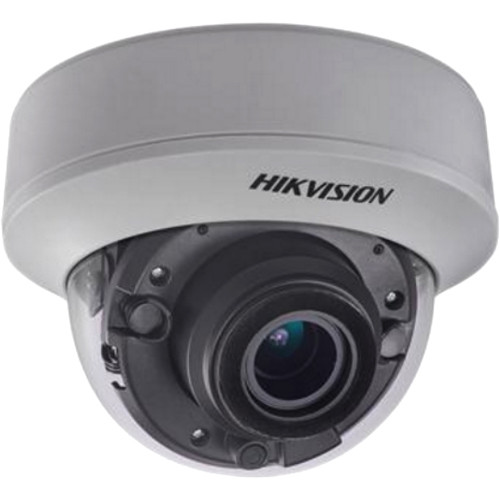 Hikvision DS-2CE56F7T-AITZ 3MP Outdoor HD-TVI Dome Camera with Night Vision & 2.8-12mm Lens