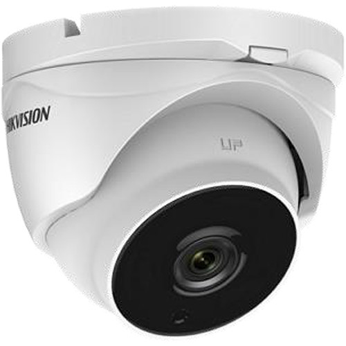 Hikvision DS-2CE56F7T-IT3Z 3MP Analog TurboHD Outdoor Turret Camera with 2.8-12mm Varifocal Lens