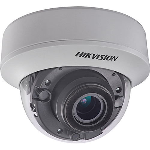 Hikvision TurboHD DS-2CE56H0T-AITZF 5MP Analog HD Dome Camera with Night Vision & 2.7-13.5mm Lens