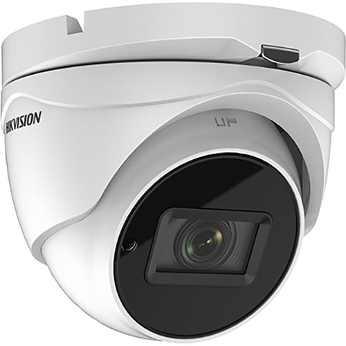 Hikvision TurboHD DS-2CE56H0T-IT3ZF 5MP Outdoor HD Analog Turret Camera with Night Vision & 2.7-13.5mm Lens
