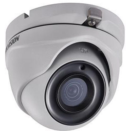 Hikvision DS-2CE56H1T-ITM 5MP Outdoor HD-TVI Turret Camera with Night Vision & 2.8mm Lens (Ivory)