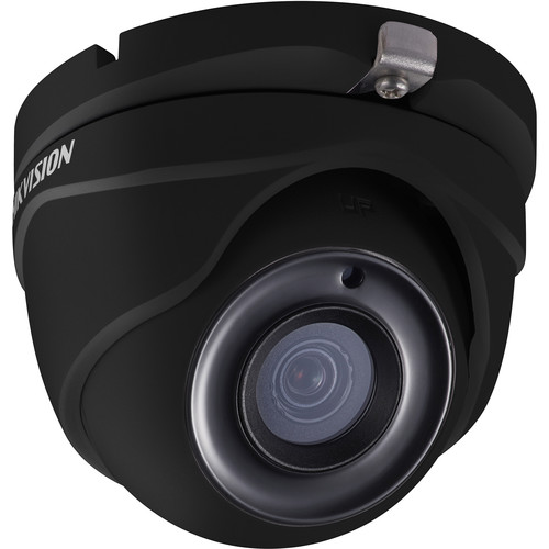 Hikvision TurboHD DS-2CE56H5T-ITME 5MP Outdoor HD-TVI Turret Camera with Night Vision & 6mm Lens (Black)