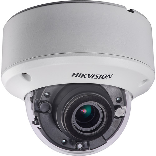 Hikvision 5MP Ultra Low Light EXIR PoC Outdoor Dome Camera with 2.8-12mm Motorized Lens