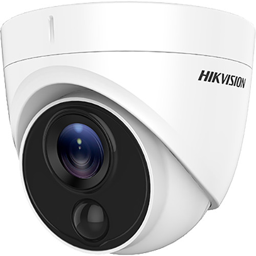 Hikvision 2MP Ultra Low Light PIR Outdoor Turret Camera with 3.6mm Fixed Lens