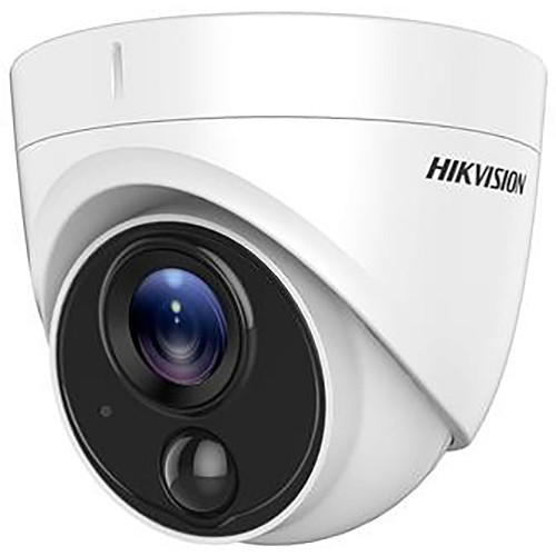 Hikvision TurboHD DS-2CE71H0T-PIRL 5MP Outdoor HD-TVI Turret Camera with Night Vision & 2.8mm Lens