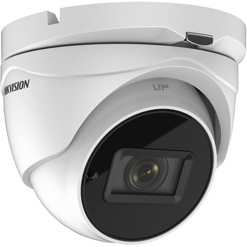 Hikvision 8MP Ultra Low Light Outdoor IR Turret Camera with 2.8-12mm Motorized Lens