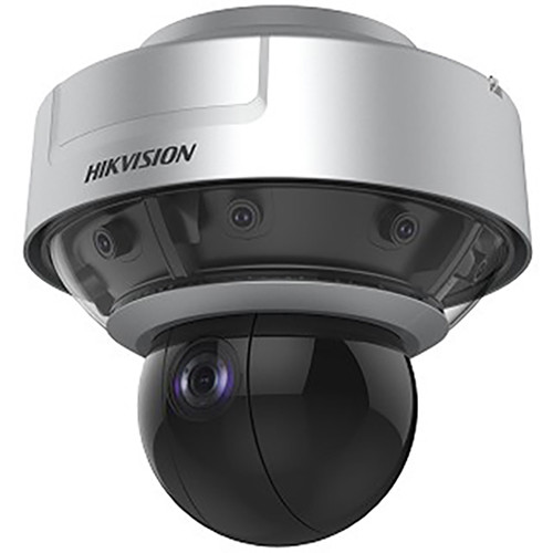 Hikvision PanoVu Series DS-2DP1636ZIX-D Outdoor Panoramic + PTZ Network Dome Camera with Night Vision