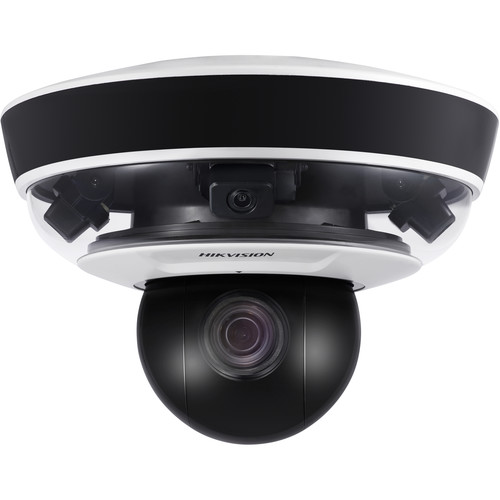 Hikvision PanoVu Mini Series DS-2PT5326IZ-DE 8MP Outdoor Panoramic + PTZ Network Dome Camera with Night Vision