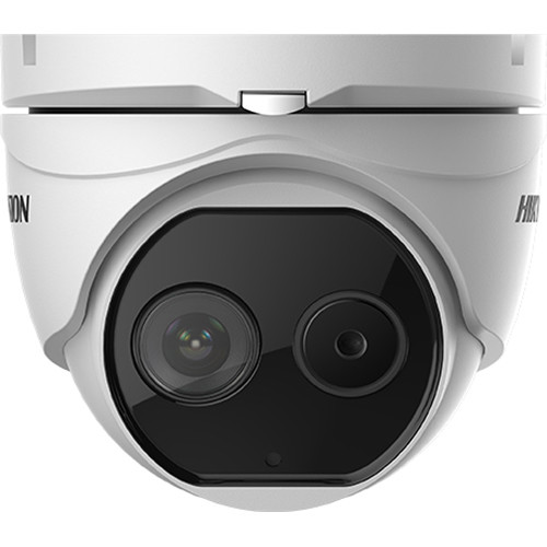 Hikvision DeepinView DS-2TD1217-6/V1 Outdoor Thermal & Optical Network Turret Camera with 6.2mm Thermal Lens