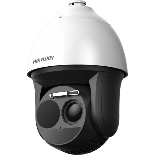 Hikvision DS-2TD4166 Bispectrum Thermal & Optical PTZ Network Dome Camera with 25mm Thermal Lens