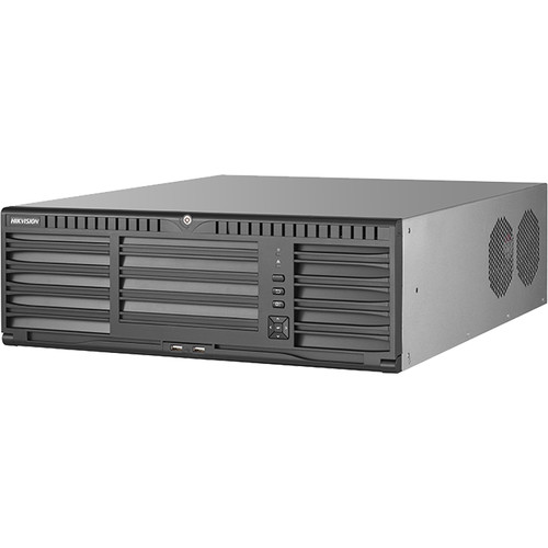 Hikvision 96064NI-I16 64-Channel 12MP NVR (No HDD, 3 RU)