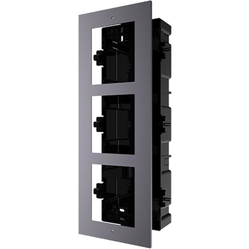 Hikvision DS-KD-ACF3 Flush Mount for Three Door Station Modules