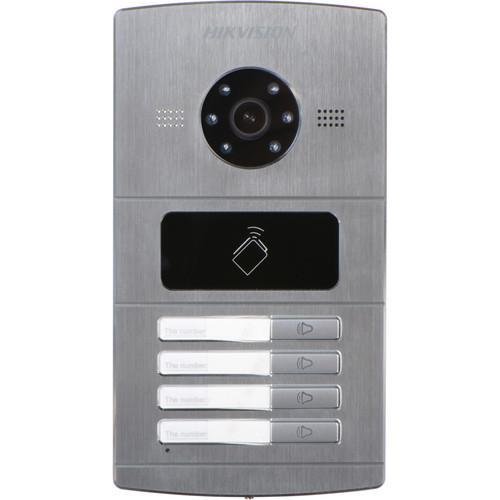 Hikvision DS-KV8402-IM 4-Channel Outdoor Video Intercom Door Station