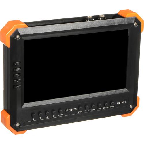 "Hikvision DS-TT-X41T 7"" TFT Active Matrix LCD Test Monitor"