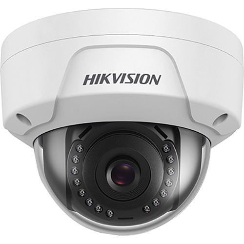 Hikvision 4MP Outdoor IR Network Dome Camera with 2.8mm Fixed Lens