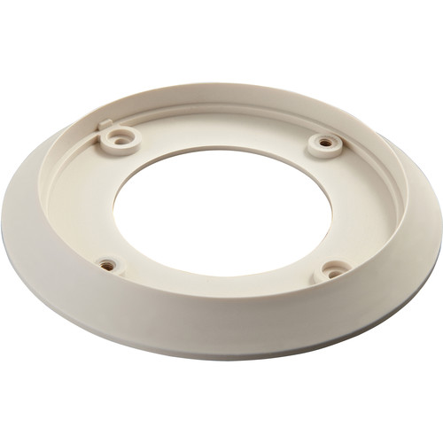Hikvision GP100 Single Gang Plate for DS-2CE55x2NVFIR3 Dome Camera