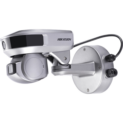 Hikvision PanoVu PT Series 2MP + 2MP Target Capture Outdoor PTZ with 4mm Fixed Lens