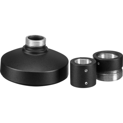Hikvision PC110B Pendant Cap for DS-2CC51D3SVPIR and DS-2CD21x2-I Cameras (Black)