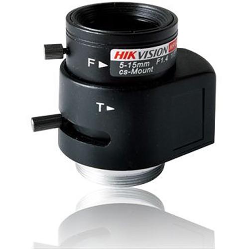Hikvision CS-Mount 5-15mm f/1.4 Megapixel Auto Iris Lens