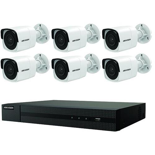Hikvision 8-Channel 4K PoE NVR Security Camera System