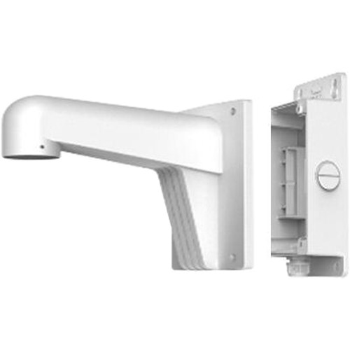 Hikvision WML Long Camera Wall Mount with Junction Box (White)