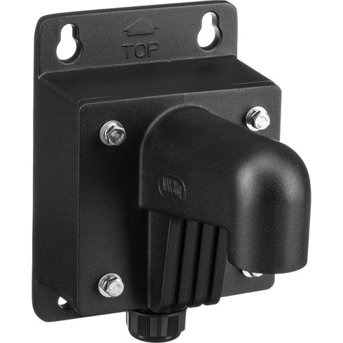 Hikvision WMSB Wall Mount with Short Junction Box (Black)