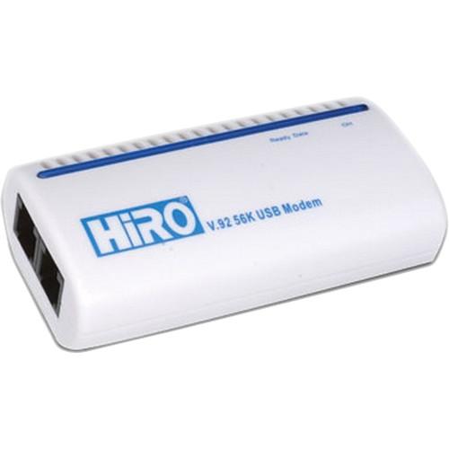 Hiro H50113 V92 56K External USB Modem