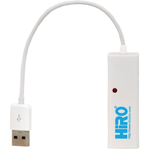 Hiro USB 2.0 to Ethernet LAN 10/100 Mb/s Portable Network Adapter