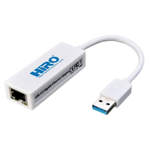 Hiro USB 3.1 Gen 1 to 10/100/1000 Gigabit Ethernet Network Adapter