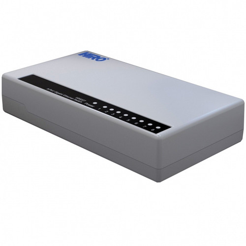 Hiro 8-Port 10/100/1000 Mb/s Gigabit Ethernet Switch