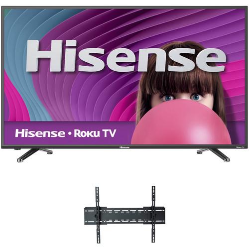 "Hisense H4D-Series 55""-Class Full HD Smart LED TV and Tilting Mount Kit"