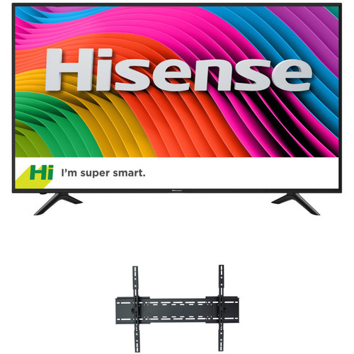 "Hisense H7D-Series 50""-Class HDR UHD Smart LED TV and Tilting Mount Kit"