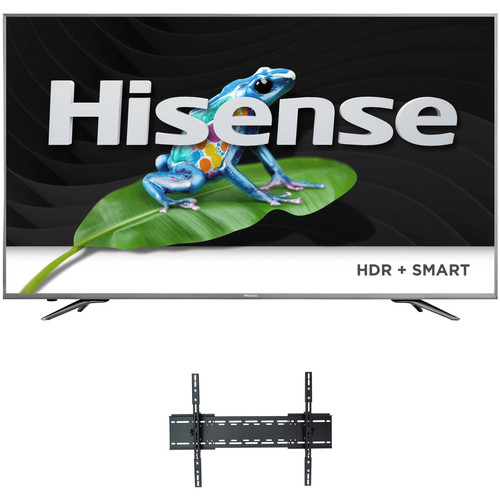 "Hisense H9-Series 65""-Class HDR UHD Smart ULED TV and Tilting Mount Kit"