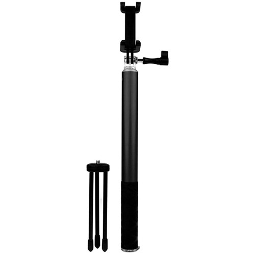 HISY WING Selfie Stick with Tripod (Black)
