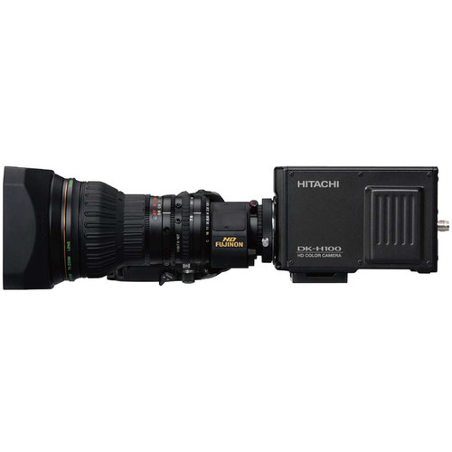 Hitachi Hitachi DKH100 Box Camera and Fujifilm XA20sX8.5BMD Standard Lens Camera Package