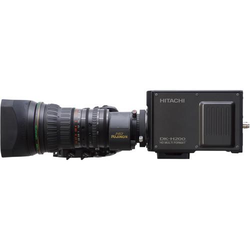 Hitachi DK-H200 Box Camera and Fujifilm XA20Sx8.5BEMD Remote Control Lens Camera Package