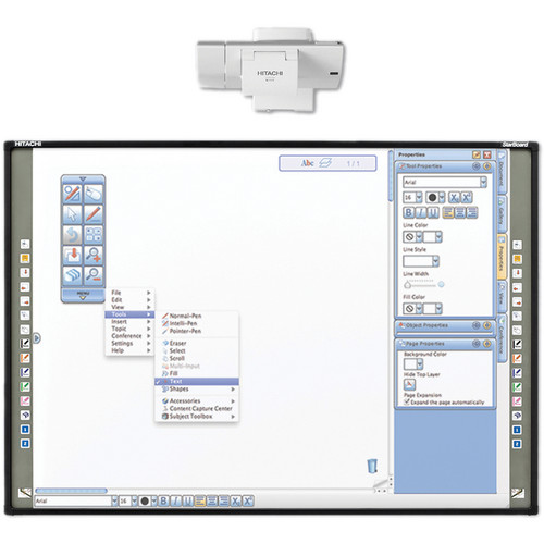 "Hitachi StarBoard FX-79E1 79"" Interactive Whiteboard"