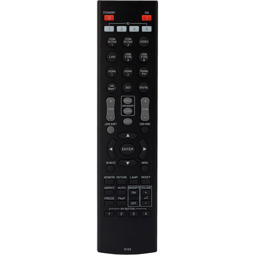 Hitachi HL02805 Replacement Remote Control for Select Hitachi Projectors